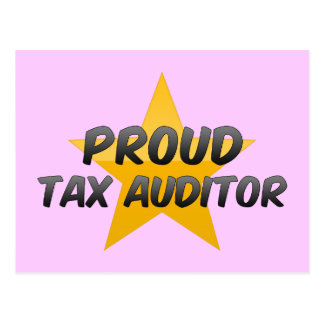 Proud Tax Auditor Post Card