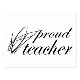 Proud Teacher! Postcard