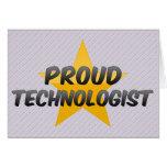 Proud Technologist Card