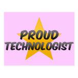 Proud Technologist Postcard