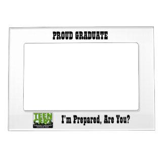 Proud TEEN CERT Graduate Magnetic Photo Frame