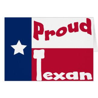 Proud Texan Card