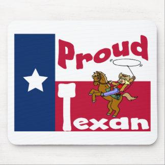 Proud Texan Mouse Pad