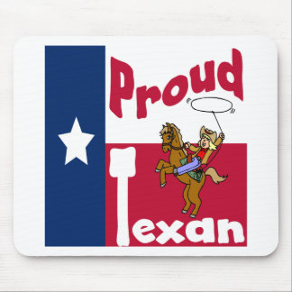 Proud Texan Mouse Pad