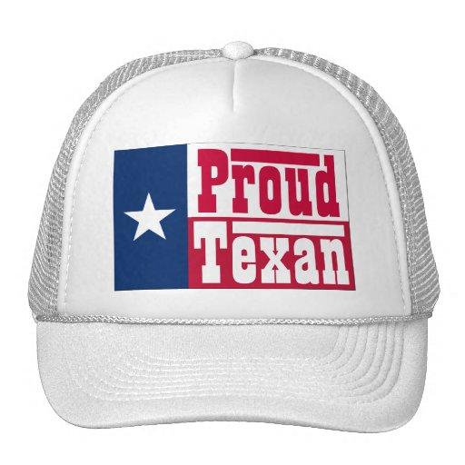 Proud Texan Trucker Hats