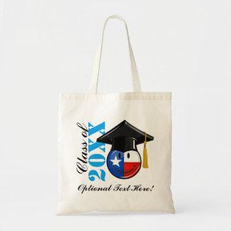 Proud Texas Graduate Smiling Flag Tote Bag