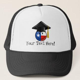 Proud Texas Graduate Smiling Flag Trucker Hat
