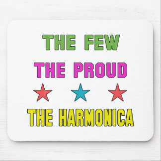 Proud the harmonica. mouse pad