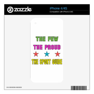 Proud the Sport Guide. iPhone 4S Decals