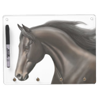 Proud Thoroughbred Horse Dry Erase Board
