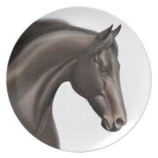 Proud Thoroughbred Horse Plate