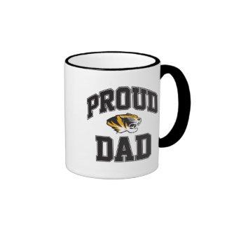 Proud Tiger Dad Ringer Mug