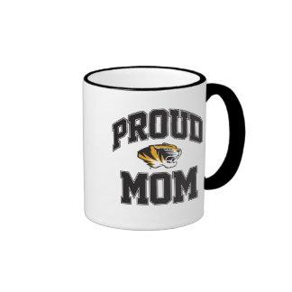 Proud Tiger Mom Ringer Mug