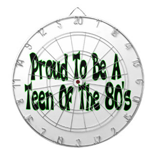 Proud To Be 80's Teen Dart Boards