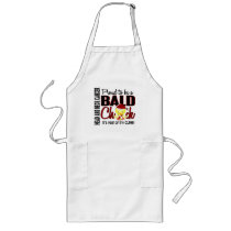 Proud To Be A Bald Chick Head Neck Cancer Long Apron