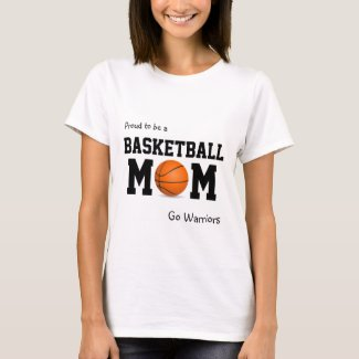 Proud to be a Basketball Mom customizable tank