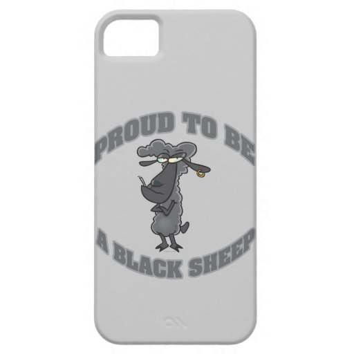 proud to be a black sheep iPhone 5 cover