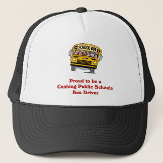 Proud to be a Bus Driver hat