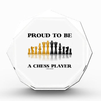 Proud To Be A Chess Player (Reflective Chess Set) Awards