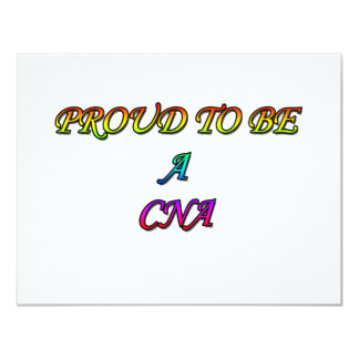 PROUD TO BE A CNA CARD