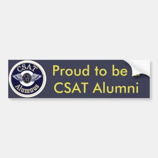 Proud to be a CSAT Alumni Bumper Sticker