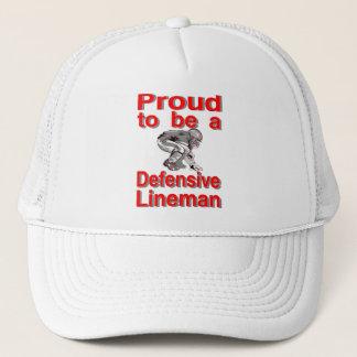 Proud to be a Defensive Lineman Trucker Hat