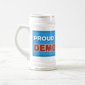 PROUD TO BE A DEMOCRAT BEER STEIN