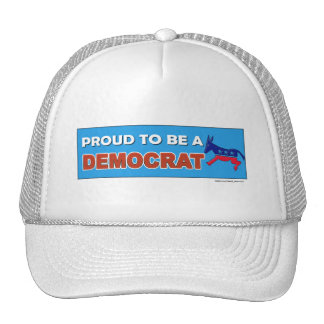 PROUD TO BE A DEMOCRAT TRUCKER HAT
