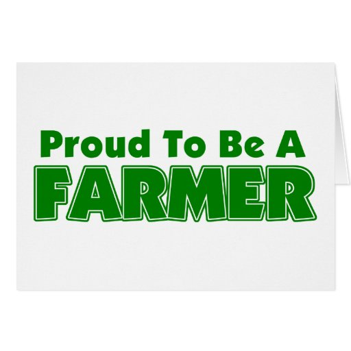 Proud To Be A Farmer Cards