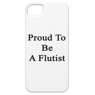 Proud To Be A Flutist iPhone SE/5/5s Case