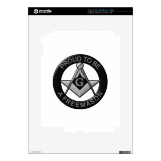 Proud To Be A Freemason Decal For iPad 2