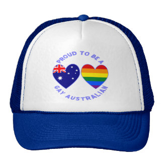 Proud to be a Gay Australian Trucker Hat