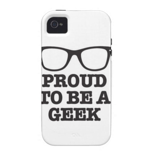 Proud To Be A Geek iPhone 4 Cover