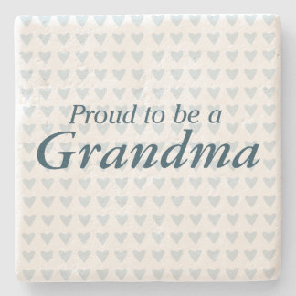 Proud to be a Grandma! Stone Coaster