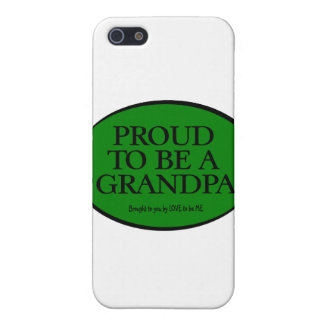 PROUD TO BE A GRANDPA - LOVE TO BE ME iPhone SE/5/5s CASE