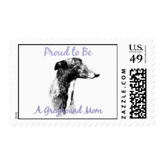 Proud to be a Greyhound Mom Postage
