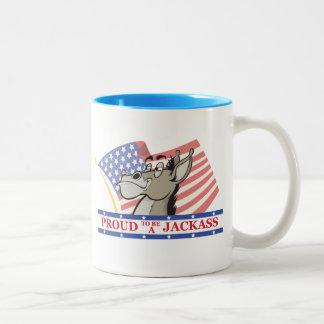 Proud To Be A Jackass Political Coffee Mug
