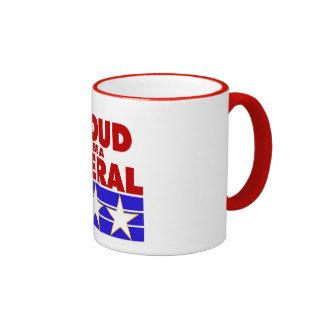 PROUD TO BE A LIBERAL coffee mug