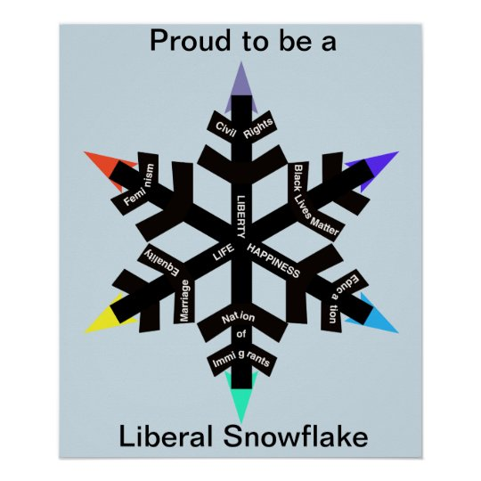 proud_to_be_a_liberal_snowflake_poster-r