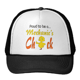 Proud to Be a Mechanic's Chick Auto Mechanic gifts Trucker Hat