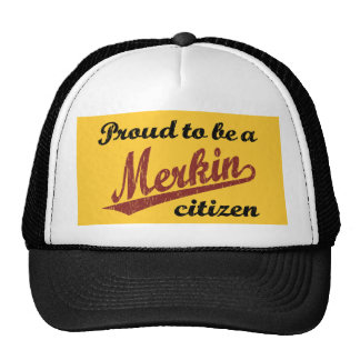 Proud to be a Merkin Citizen Trucker Hat
