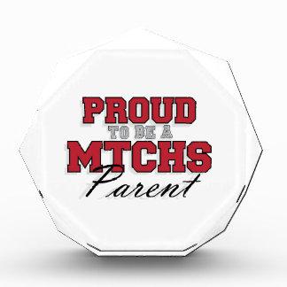 Proud to be a MTCHS Parent 1 Acrylic Award