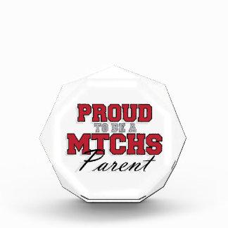 Proud to be a MTCHS Parent 1 Award