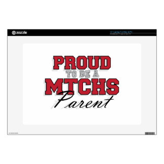 """Proud to be a MTCHS Parent 1 Decal For 15"""" Laptop"""