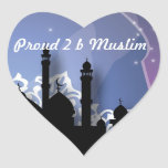 Proud to be a muslim sticker