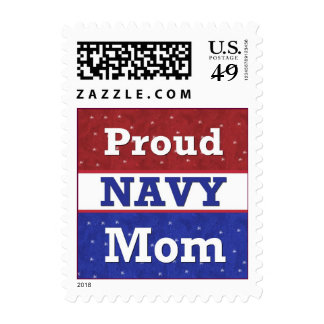 Proud to Be a Navy Mom Postage