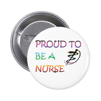PROUD TO BE A NURSE BUTTONS