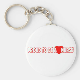 Proud To Be A Nurse Key Chain