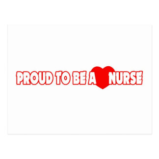 Proud To Be A Nurse Post Cards