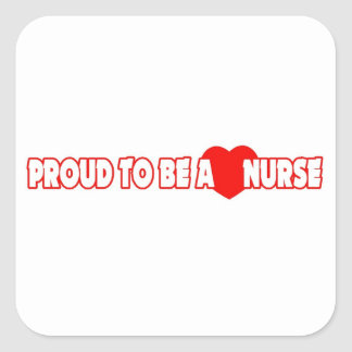 Proud To Be A Nurse Stickers